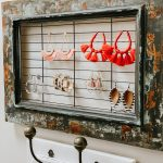 diy Dollar Tree earring holder