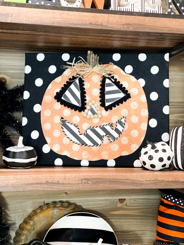 Dollar Tree Wood Pumpkin Diy Re Fabbed