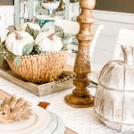 Easy and Beautiful Fall Tablescape
