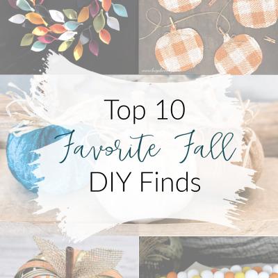 Top 10 Favorite Fall DIY Finds
