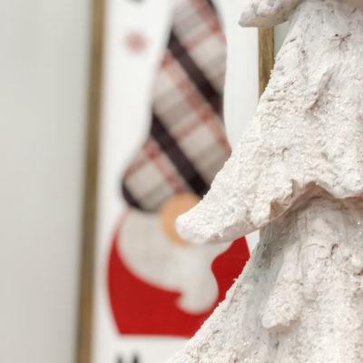 diy Christmas gnome sign