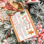 Mini Cutting Board Recipe Ornament