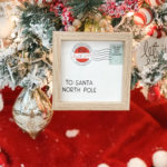 dollar tree Christmas card ornament
