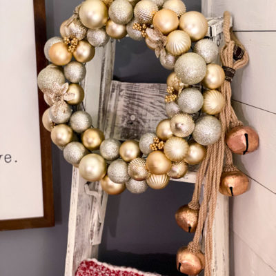 diy dollar tree ornament wreath