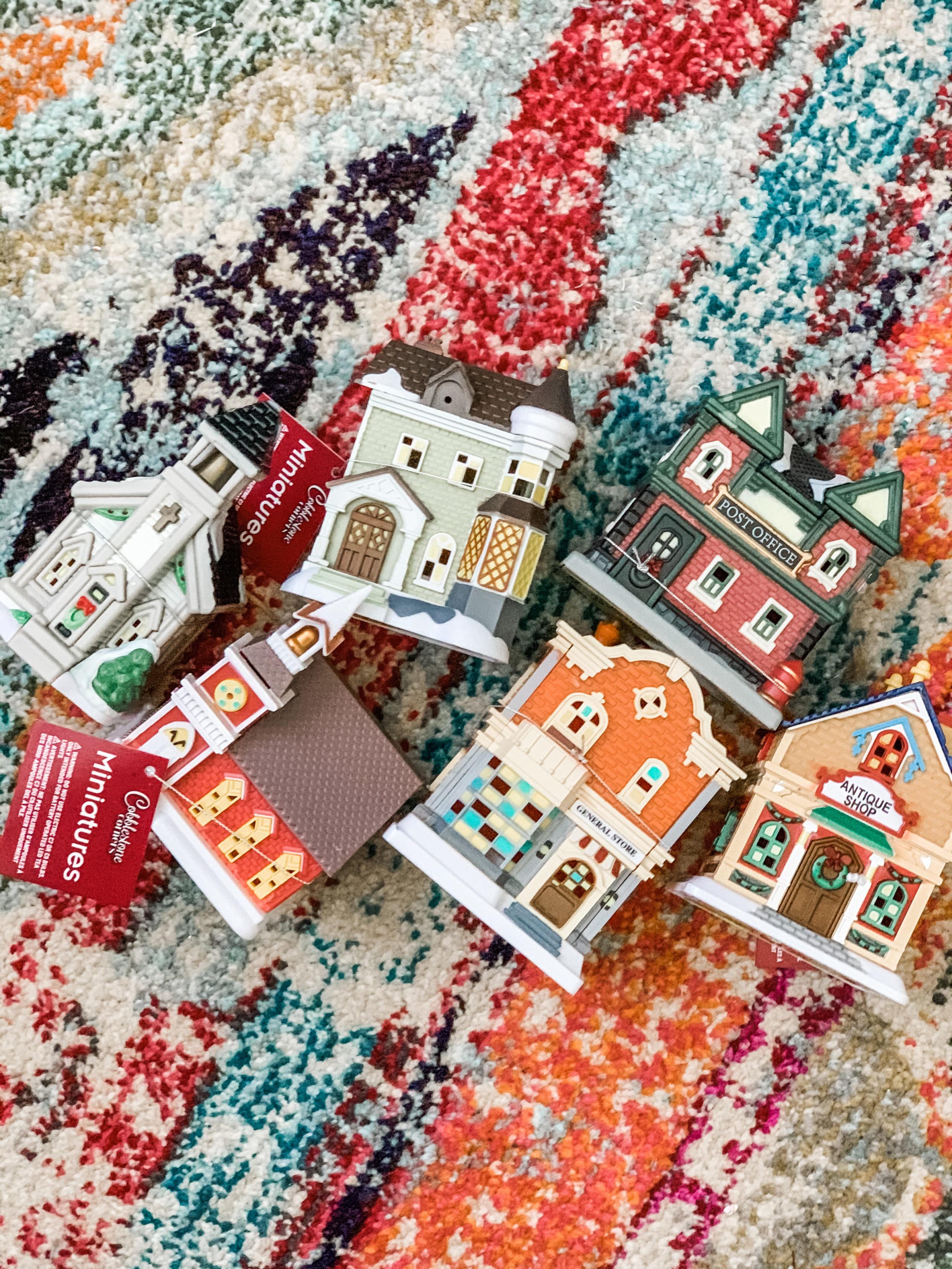 Dollar Tree Christmas Village 2021 Dollar Tree Christmas Village Makeover Re Fabbed