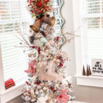 Pioneer Woman inspired Christmas tree