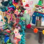 Colorful Playroom Christmas Tree