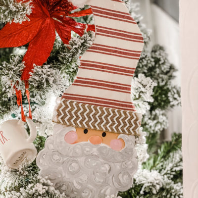 diy dollar tree santa makeover