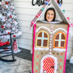 diy life size gingerbread house