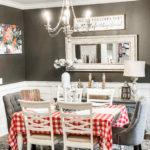 simplistic dining room