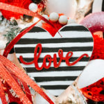 diy Dollar General Valentine ornament