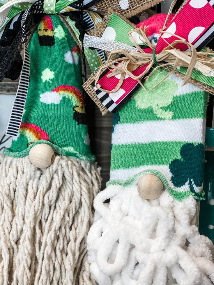 how to make gnomes from Dollar Tree socks