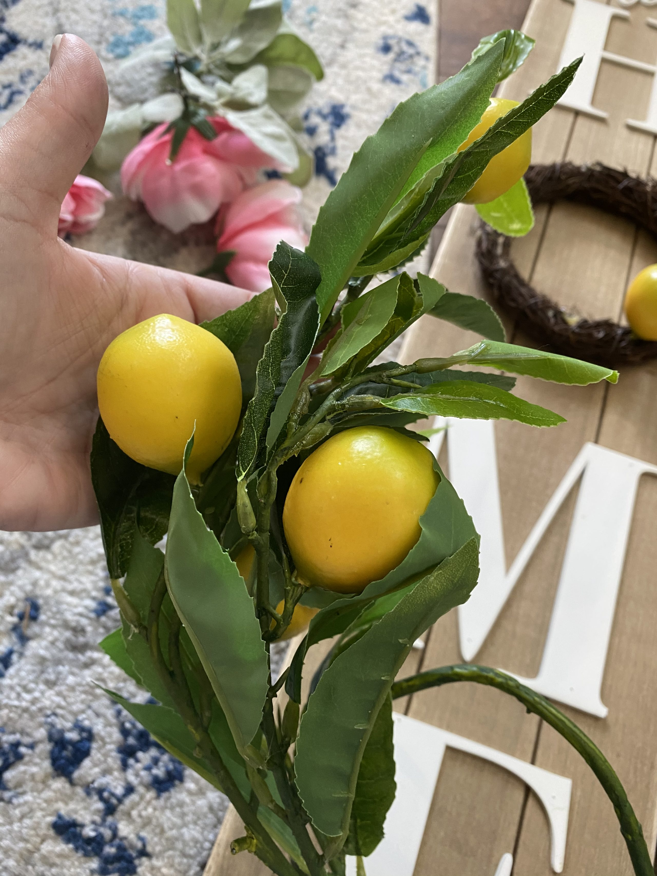lemon branches used for project from amazon