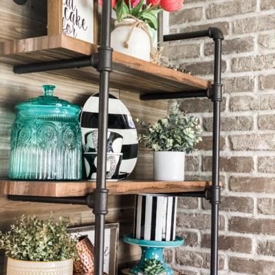 simple Spring coffee bar