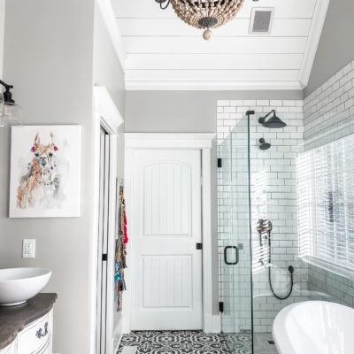 Neutral, Classic Master Bathroom