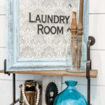 diy dollar tree laundry room sign