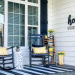 spring front porch tour