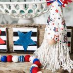 diy patriotic gnome