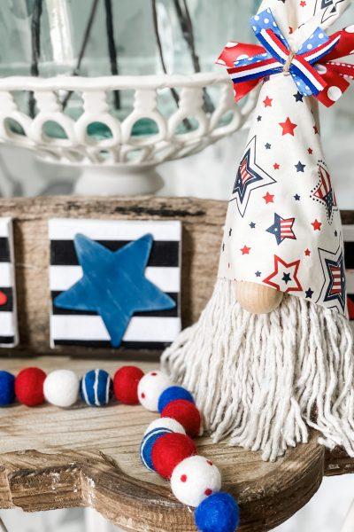 how to make a patriotic gnome