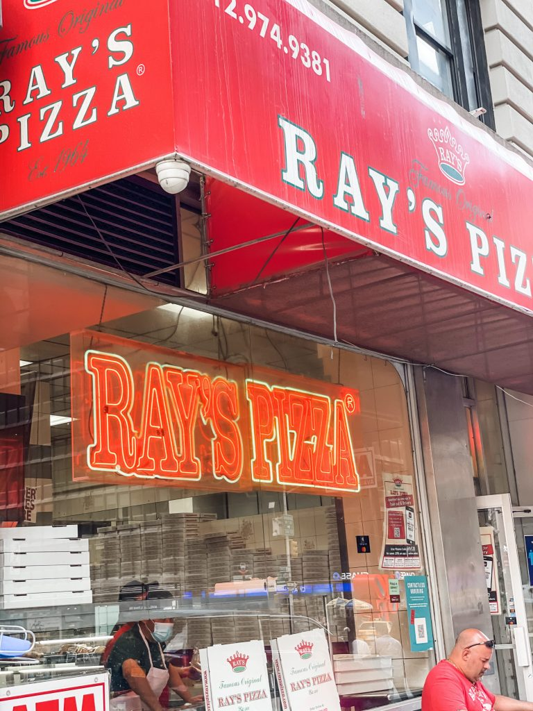 3 day trip travel guide to new york city - rays pizza