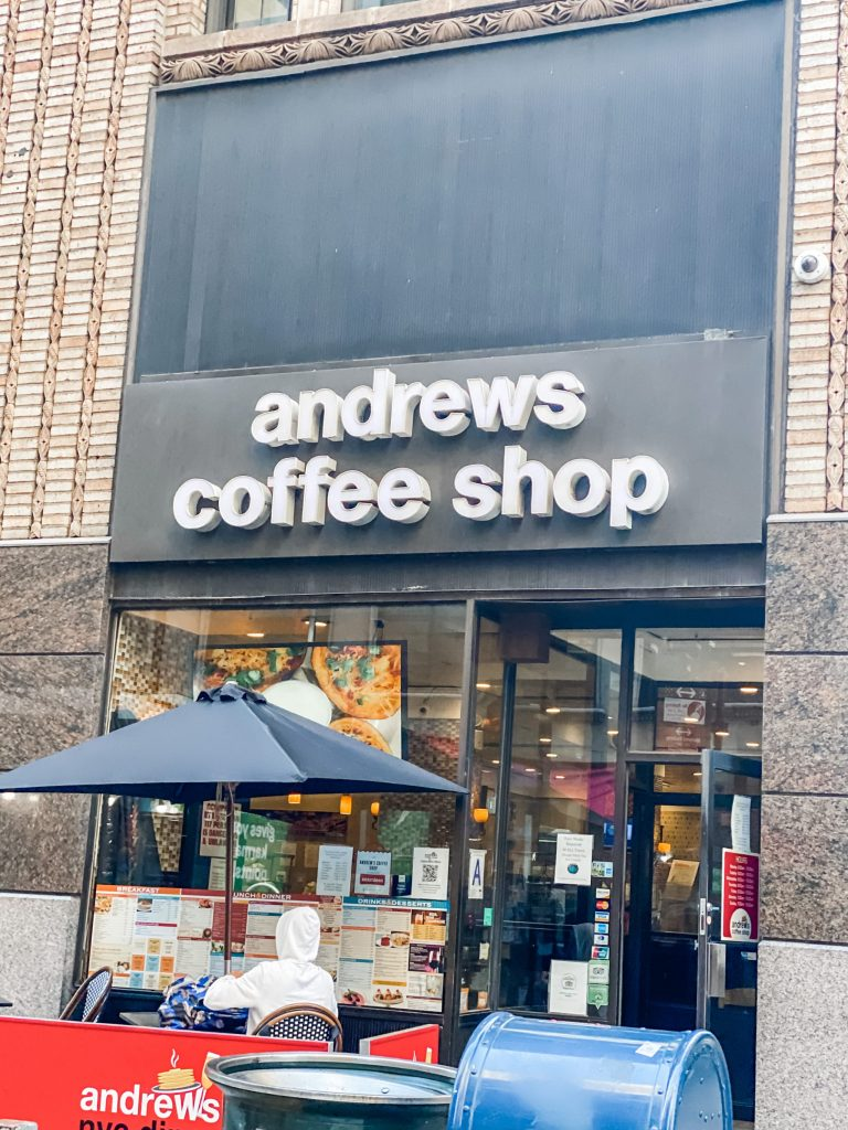 3 day trip travel guide to new york city - andrews coffee shop