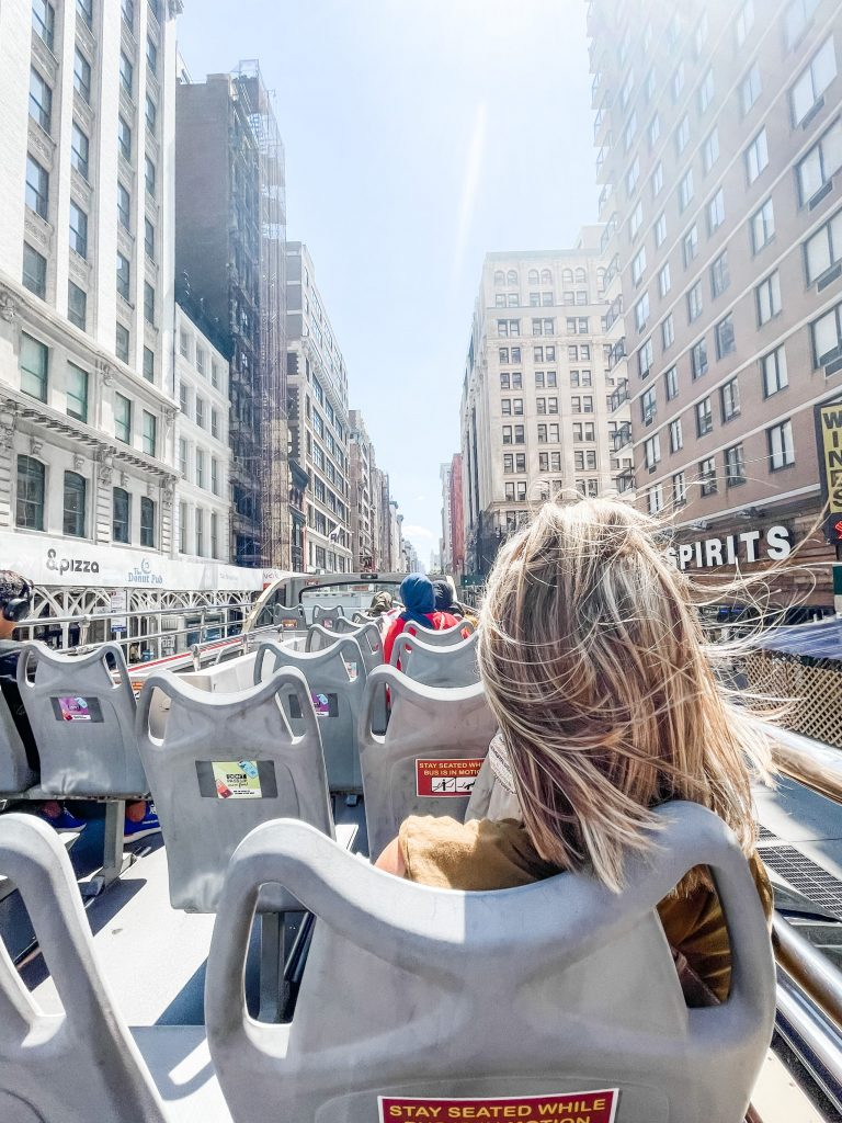3 day trip travel guide to new york city - bus tour