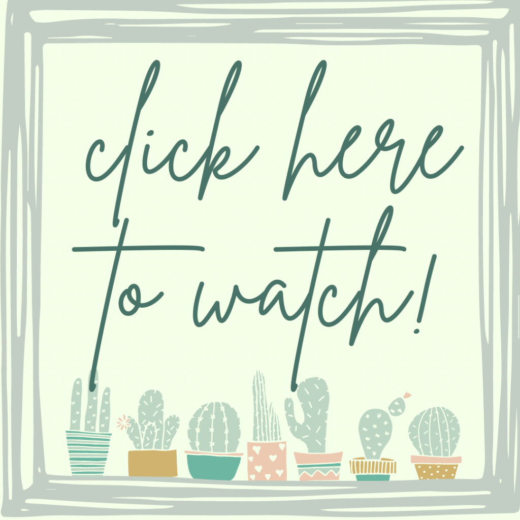 cactus sign using mod podge and scrapbook paper