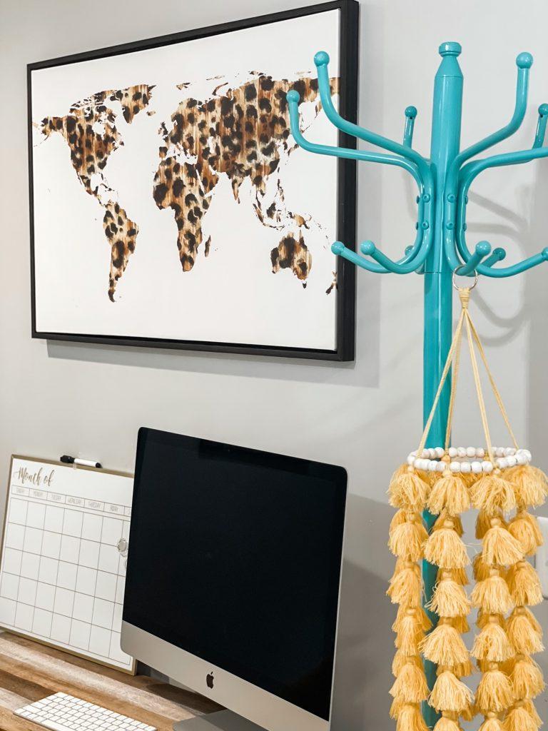 leopard print map of the world hobby lobby