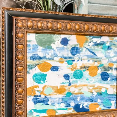 simple abstract painting hack