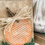 diy rustic pumpkin decor