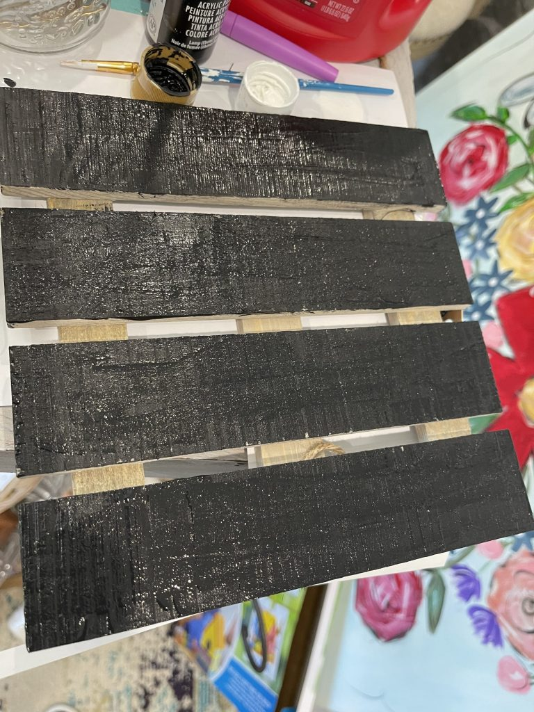 paint your dollar general board black