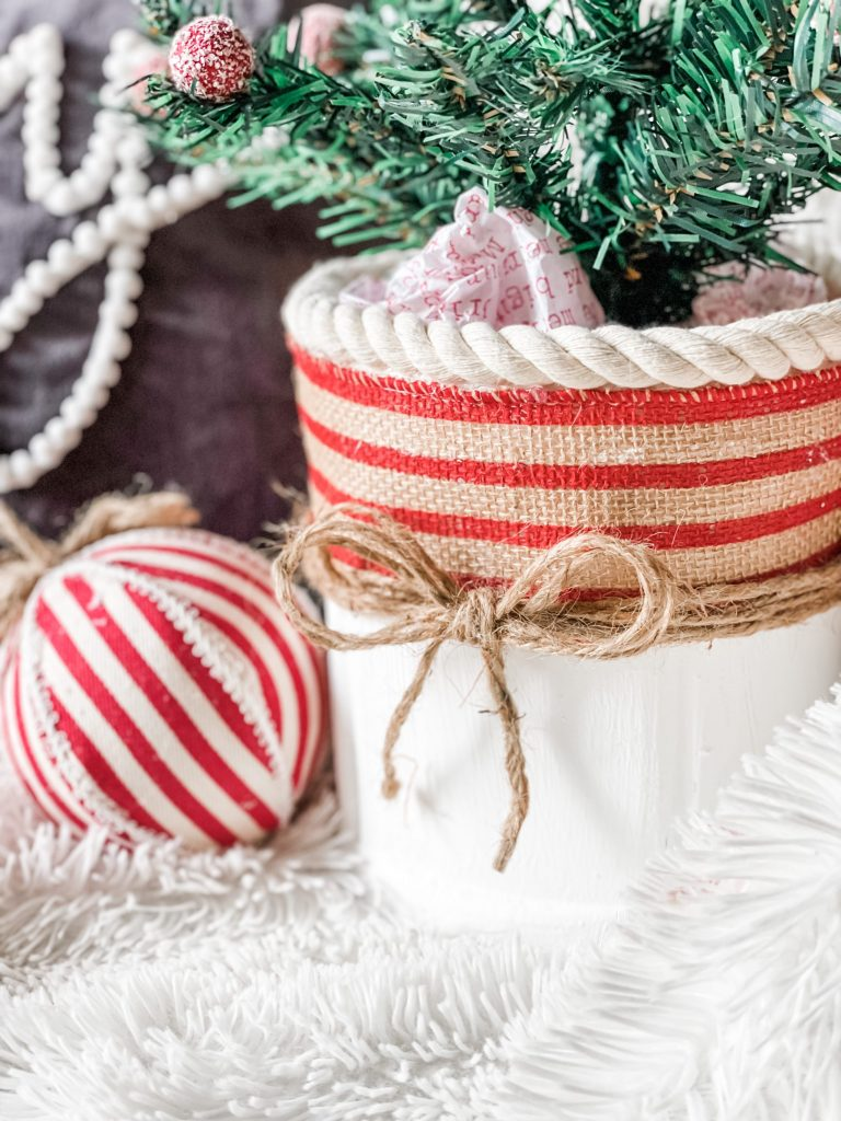 folgers can coffee can christmas craft