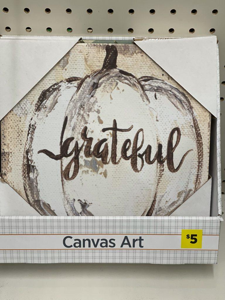 grateful canvas art