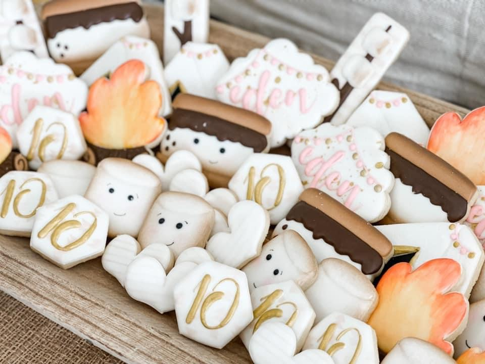 smores themed cookies