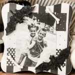 DIY Dollar Tree Halloween Picture Frame