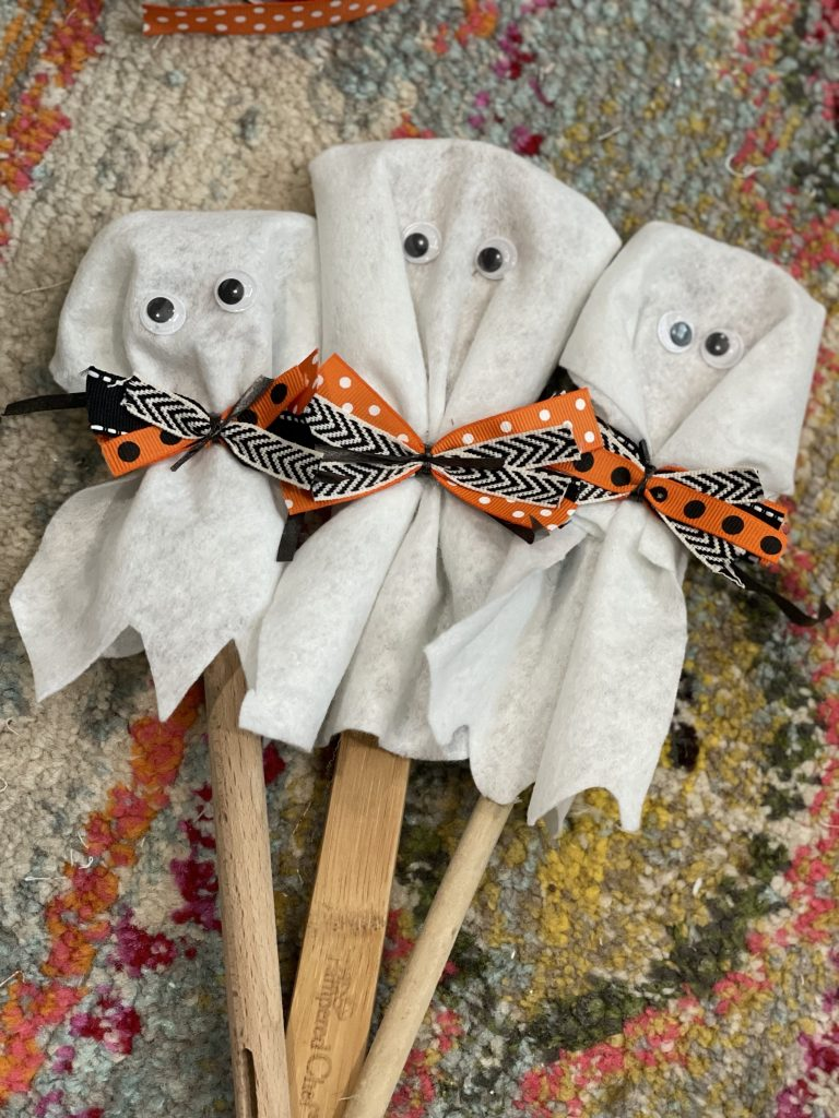 display the ghosts in a vase and enjoy!
