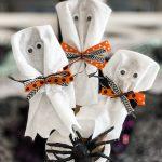 Easy DIY Ghost Craft for Halloween