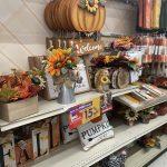 Fall and Halloween decor at Big Lots