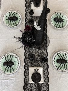 picture of halloween tablescape