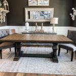 wooden dining room table