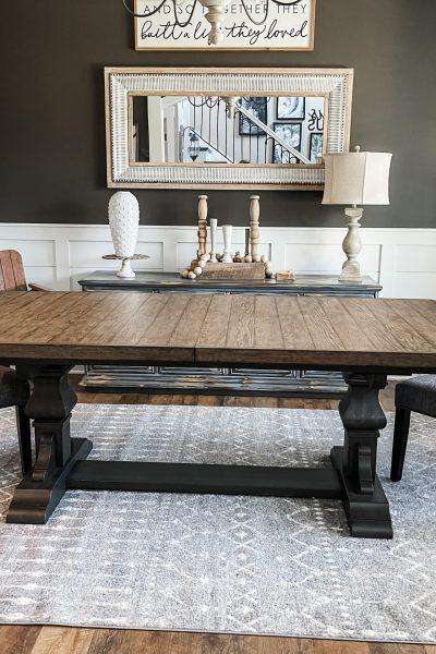 picture of liberty wooden dining room table
