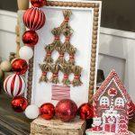 diy tassel Christmas tree